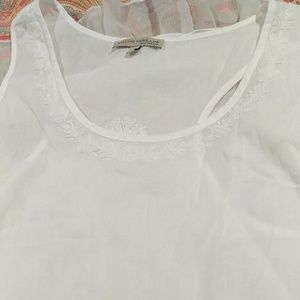 young threads Tops - Young threads White sleeveless top size large